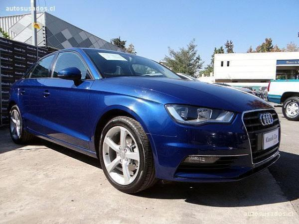 Audi A3 1.4 turbo año 2015