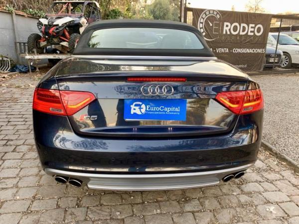 Audi S5 CONVERTIBLE 333 HP QUATTR año 2014