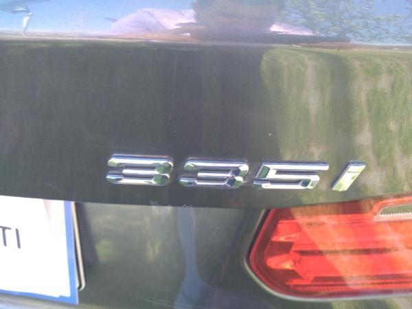 BMW 335 LUXURY 3.0 AT TURBO año 2016
