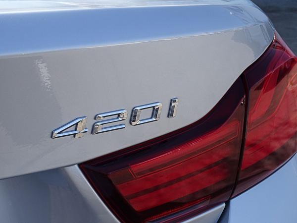 BMW 420 i Cabrio LCI año 2020