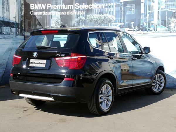 BMW X3 XDRIVE 20D año 2012
