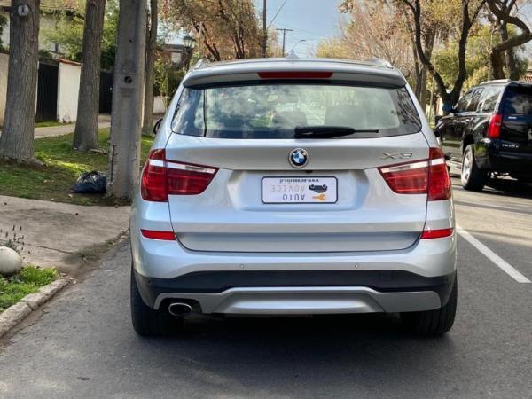 BMW X3 DRIVE D XLINE año 2017