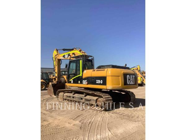 Caterpillar 329DL  año 2012