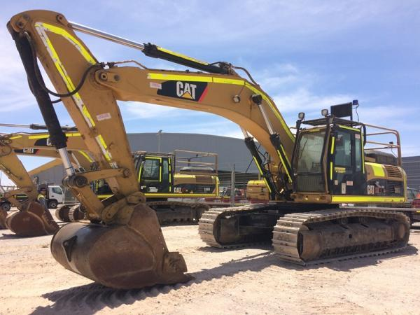 Caterpillar 336DL  año 2010