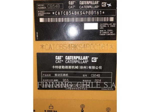 Caterpillar CB54B  año 2014