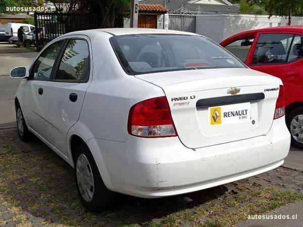 Chevrolet Aveo LT 1.4 año 2005