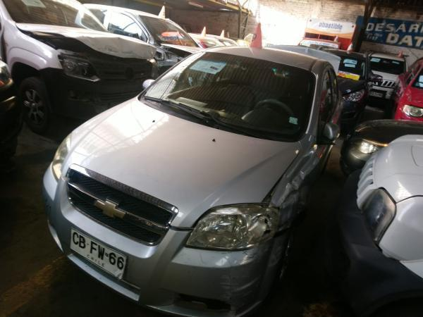 Chevrolet Aveo CHOCADA año 2009