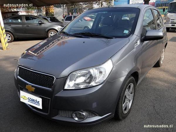 Chevrolet Aveo HB LT 1.4 AC año 2011