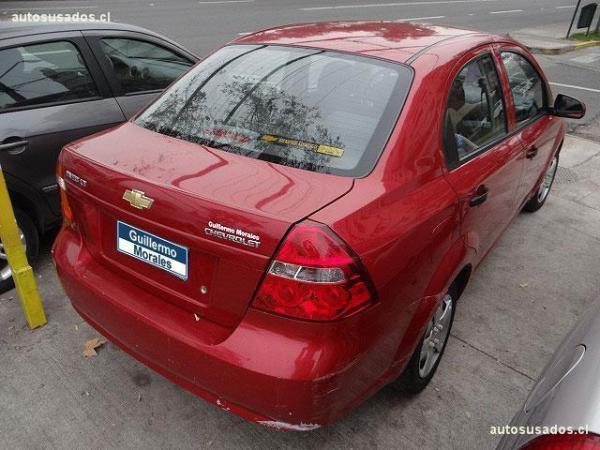 Chevrolet Aveo II LT año 2011