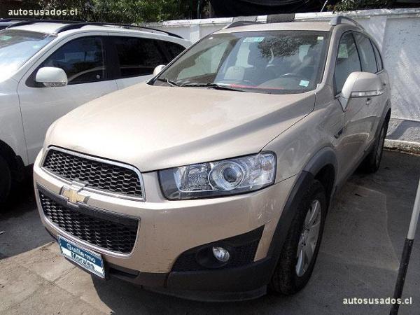 Chevrolet Captiva LT año 2012