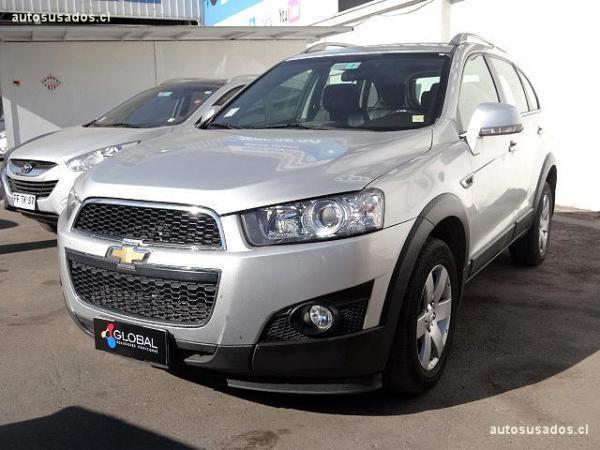 Chevrolet Captiva II LT 2.4 año 2012