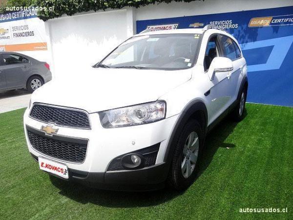 Chevrolet Captiva  año 2012