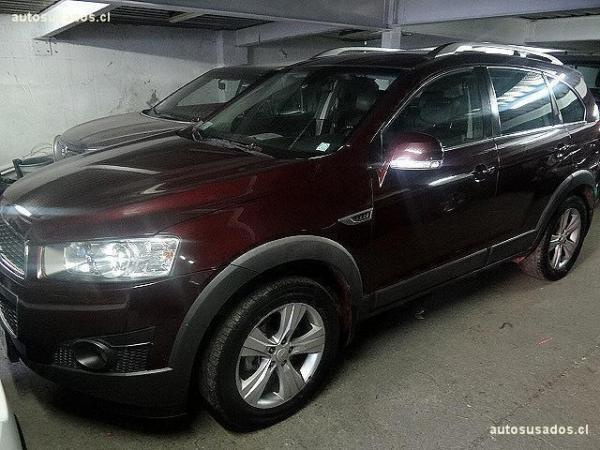 Chevrolet Captiva III LT año 2012