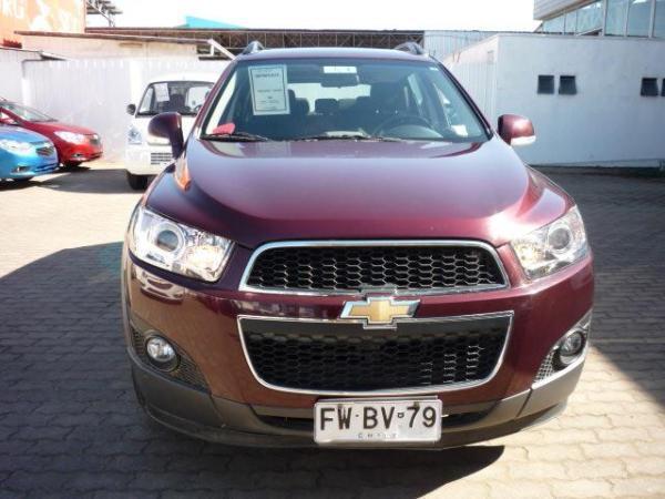 Chevrolet Captiva 2.4 año 2013