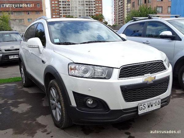 Chevrolet Captiva LS 2.4 año 2014