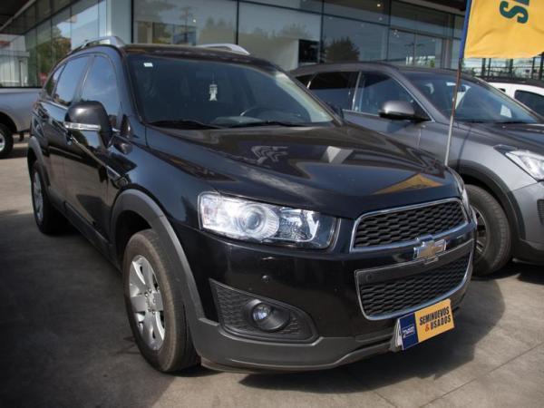 Chevrolet Captiva CAPTIVA LT SA 2.4 AT año 2015