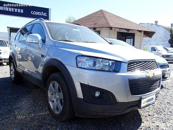 Chevrolet Captiva LS 2.4 año 2015