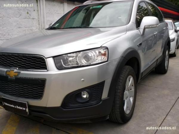 Chevrolet Captiva LS 2.4 AT año 2015