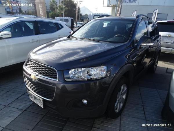 Chevrolet Captiva LS 2.4L FWD 6MT año 2015