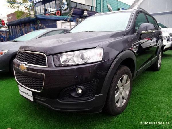 Chevrolet Captiva LT año 2016