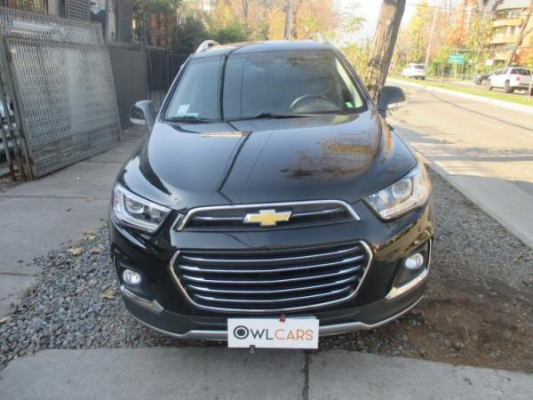 Chevrolet Captiva Ltz Awd 2.2 año 2017