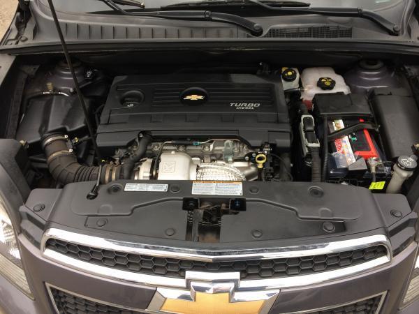 Chevrolet Orlando LS año 2012