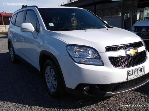 Chevrolet Orlando LS 2.0 año 2014