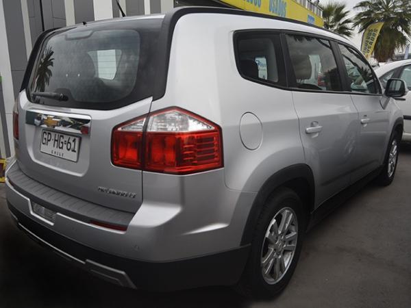 Chevrolet Orlando ORLANDO LT 2.4 AT año 2014