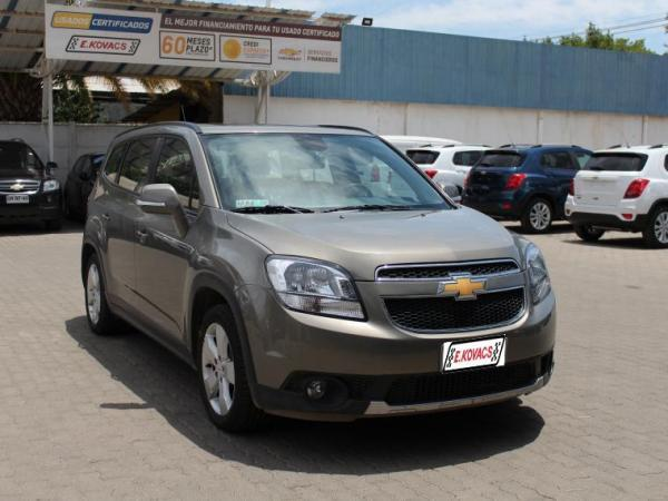 Chevrolet Orlando LT 2.4 AT año 2018