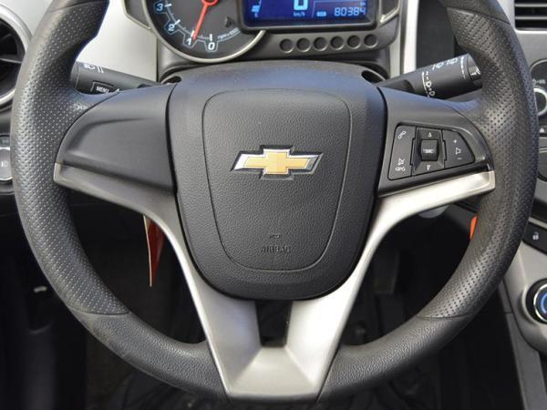 Chevrolet Sonic lt año 2014