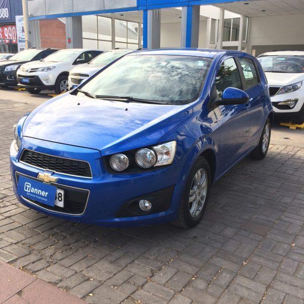 Chevrolet Sonic II LT MT año 2014