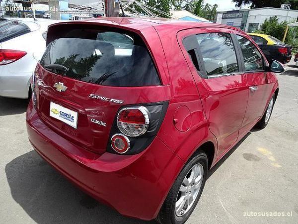 Chevrolet Sonic II LT año 2014