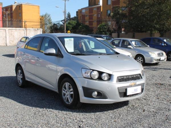 Chevrolet Sonic LT 1.6 año 2015