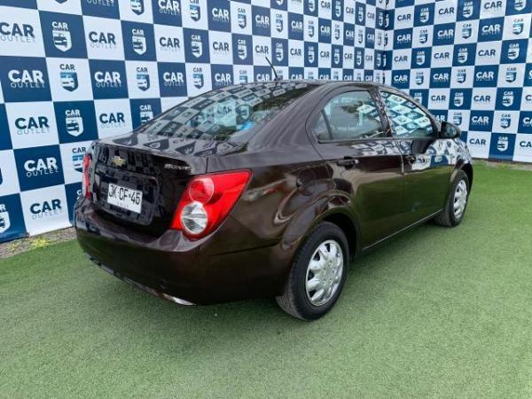 Chevrolet Sonic 1.6 NB MT año 2015
