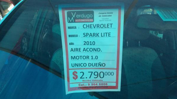 Chevrolet Spark  año 2010
