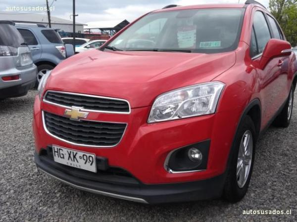 Chevrolet Tracker 1.8 LT año 2015