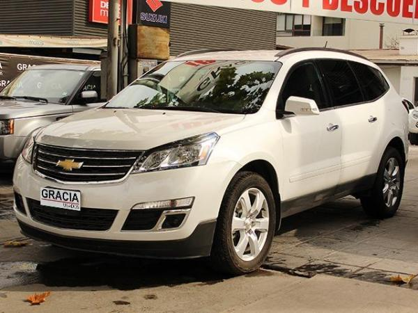Chevrolet Traverse LT 3.6 AT 4x2 año 2017