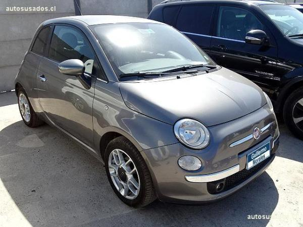 Fiat 500 POP año 2012