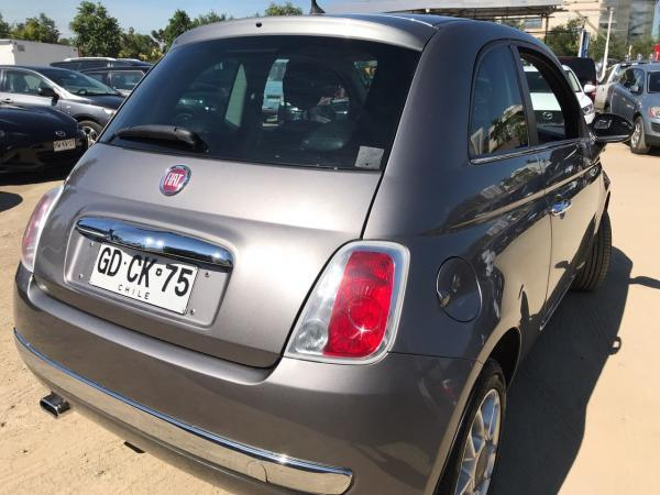 Fiat 500 1.2 AT año 2014