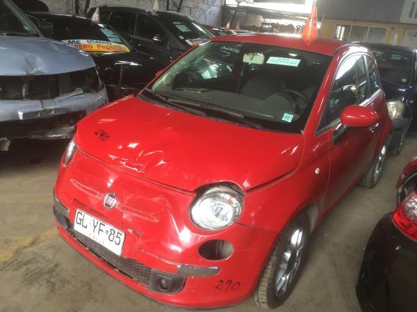 Fiat 500 CHOCADA LIQUIDAMOS año 2014