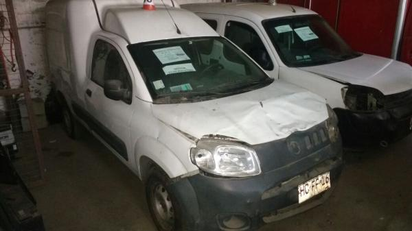 Fiat Fiorino CHOCADA LIQUIDAMOS año 2015