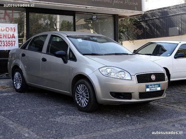 Fiat Linea ACTIVE SEDAN 1.4 año 2012