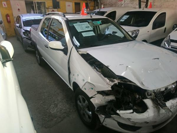 Fiat Strada CHOCADA año 2018