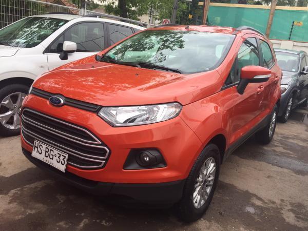 Ford Ecosport 1.5 año 2016