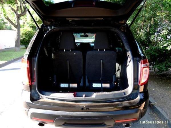 Ford Explorer XLT 3.5 4x2 año 2012