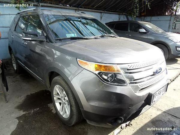 Ford Explorer XLT año 2013