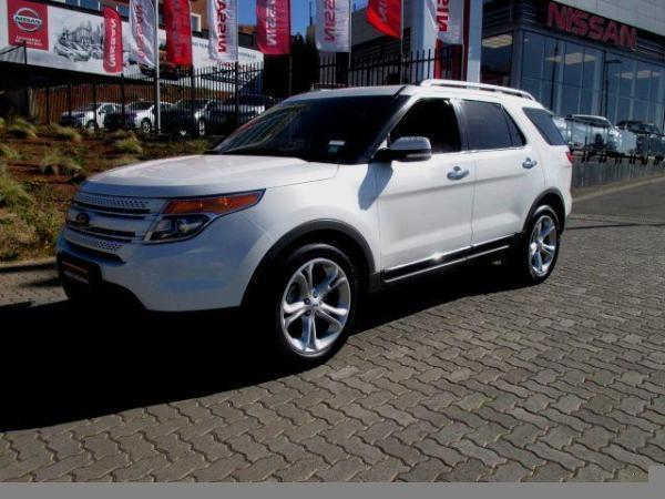 Ford Explorer 3.5 XLT LIMITED año 2013