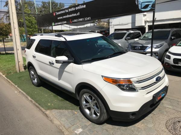 Ford Explorer limited 3.5 4x4 año 2014