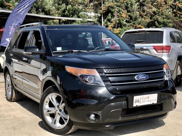 Ford Explorer 2.0 LIMITED ECOBOOST AT año 2016