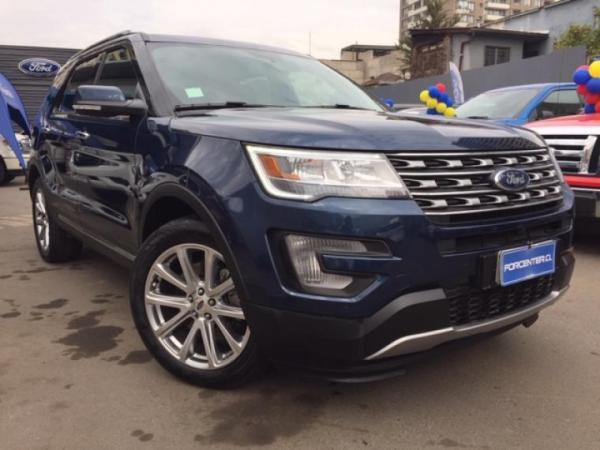 Ford Explorer limited año 2018